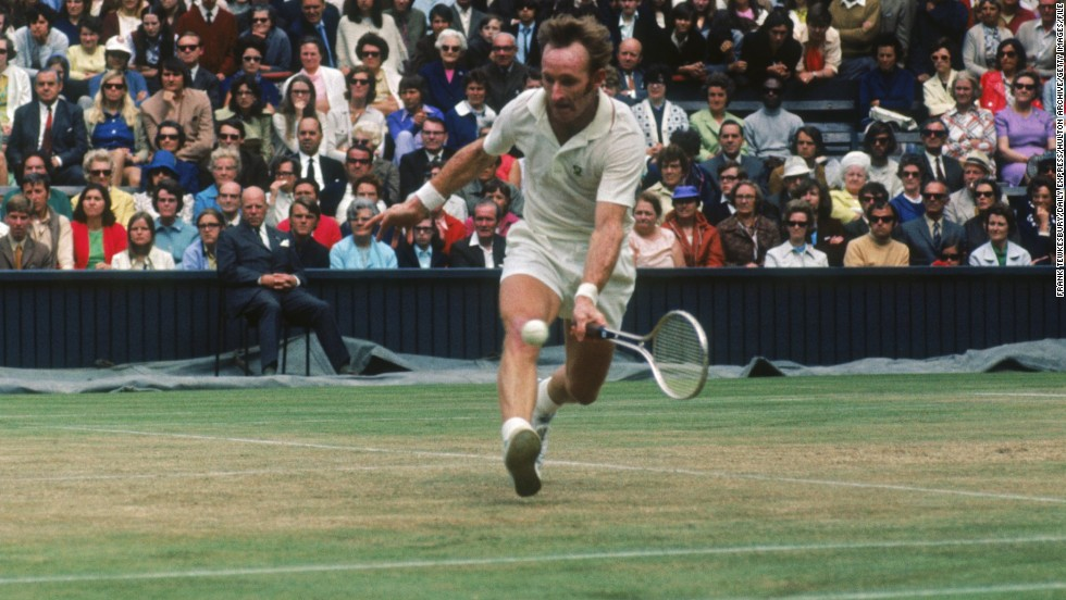 During his 13-year playing career, Laver reached the top of the world rankings and won 11 grand slam titles. The lefthander retired in 1976.