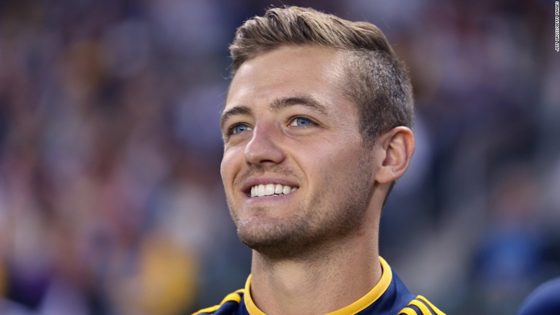 Robbie Rogers announced he was gay in February 2013 and promptly retired from professional football. It was only after being a hugely positive reaction that he decided to return to action with Los Angeles Galaxy in the U.S. Major League Soccer.