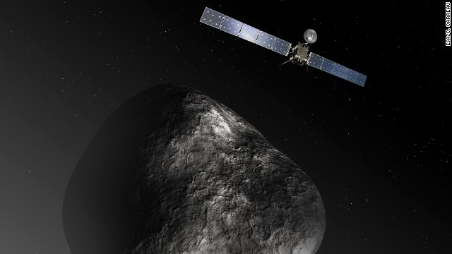 Comet-chasing probe wakes up after 2 years