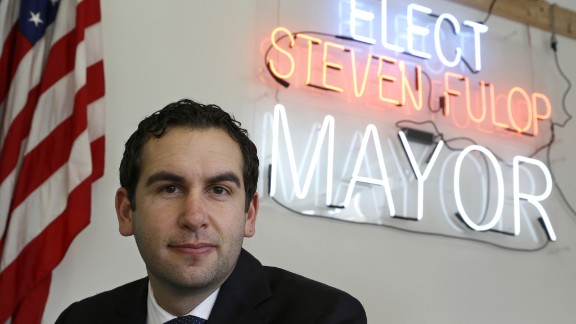 Jersey City Mayor Steven Fulop, a Democrat who also didn
