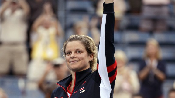 Kim Clijsters retired from professional tennis for a second time at the U.S. Open in September 2012. The Belgian won four grand slam titles in a 15-year career which included a two-year break between 2007 and 2009.