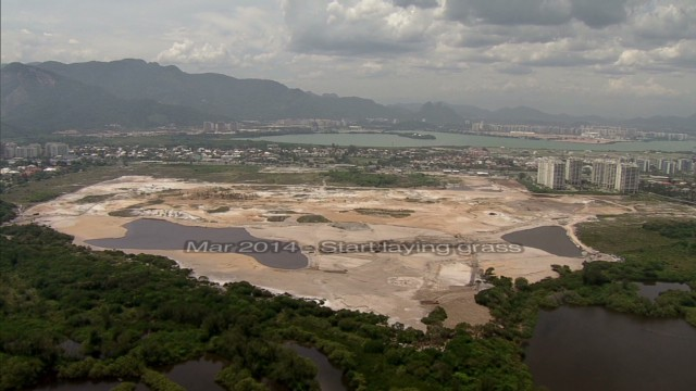 Rio's Olympic golf course