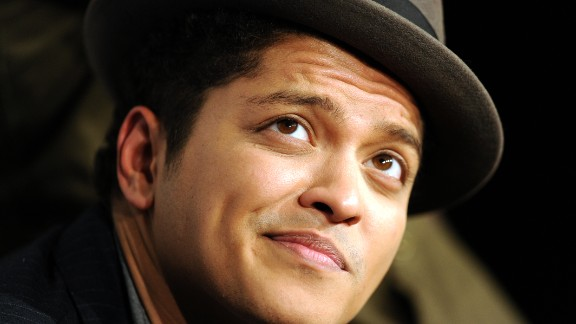 Born to a Puerto Rican/Jewish father and Filipino mother, pop sensation Bruno Mars' real name is Peter Hernandez. He told GQ Magazine that when music producers heard his last name, they suggested he try Latin music instead.