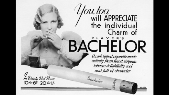 "An advertisement for Bachelor cigarettes invites the audience to sample their ""individual charm and delightful character."""