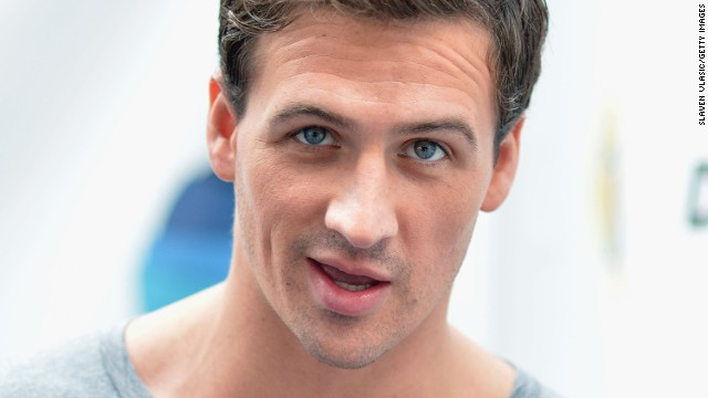 "NEW YORK, NY - OCTOBER 08:  Olympic Gold Medalist Ryan Lochte attends day 1 of ""Swim For Relief"" Benefiting Hurricane Sandy Recovery at Herald Square on October 8, 2013 in New York City.  (Photo by Slaven Vlasic/Getty Images)"