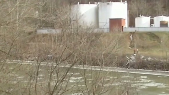 A chemical spill at Freedom Industries leaked into West Virginia's Elk River in January.