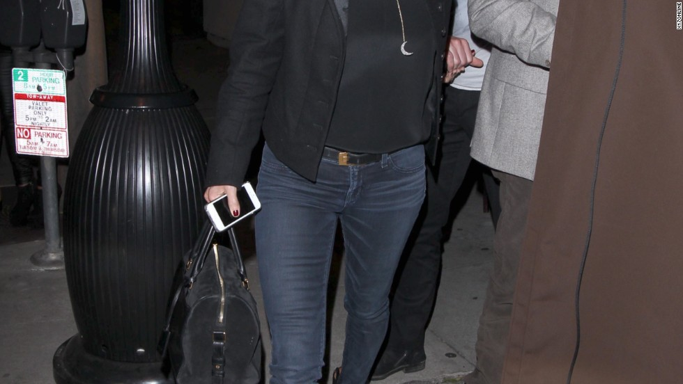 """Cougar Town"" star Courteney Cox has a night out on the town on January 9."