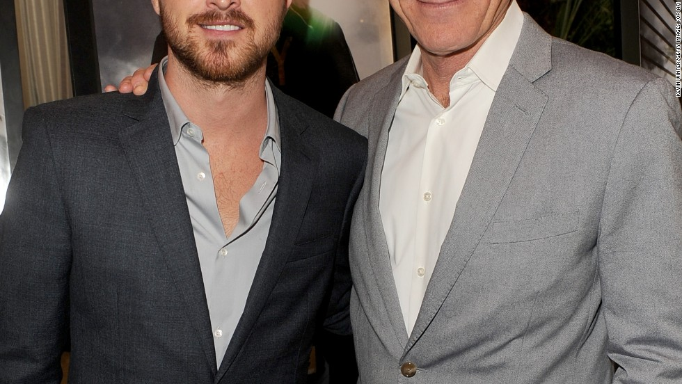"It's a ""Breaking Bad"" reunion! Aaron Paul and Bryan Cranston are clearly still close after the end of the show as they meet up at the 14th annual AFI Awards Luncheon on January 10."