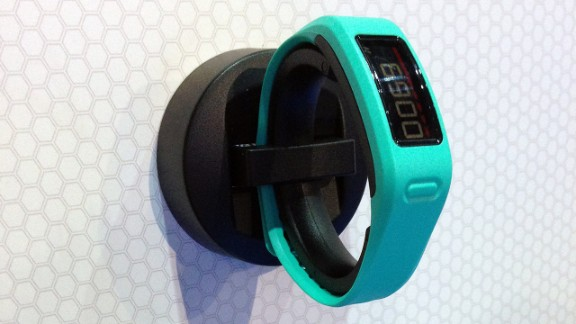 """GPS company Garmin has its own activity tracking wrist-wear. The <a href=""""http://sites.garmin.com/vivo/"""" target=""""_blank"""" target=""""_blank"""">Vivofit</a> ($130-$170) suggests daily goals and can be paired with a separate heart-rate monitor."""