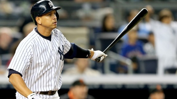 New York Yankees slugger Alex Rodriguez served a 162-game suspension for doping -- the most severe in baseball history for performance-enhancing drug use. Missing the entire 2014 season cost Rodriguez his $25 million salary.