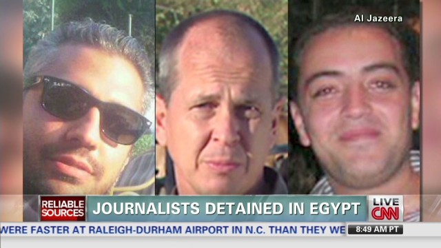 Journalists detained in Egypt
