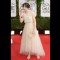 16 golden globes red carpet - Zooey Deschanel