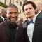 43 golden globes red carpet - usher orlando bloom