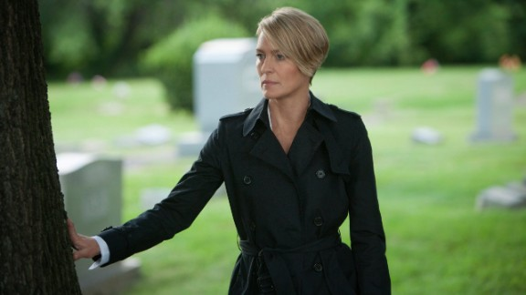 """Best actress in a TV series, drama: Robin Wright, """"House of Cards"""""""