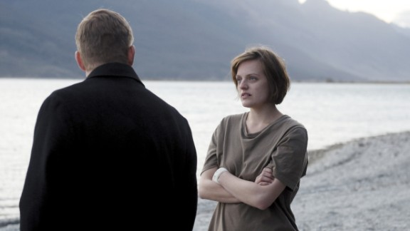 """Best actress in a miniseries or TV film: Elisabeth Moss, """"Top of the Lake"""""""