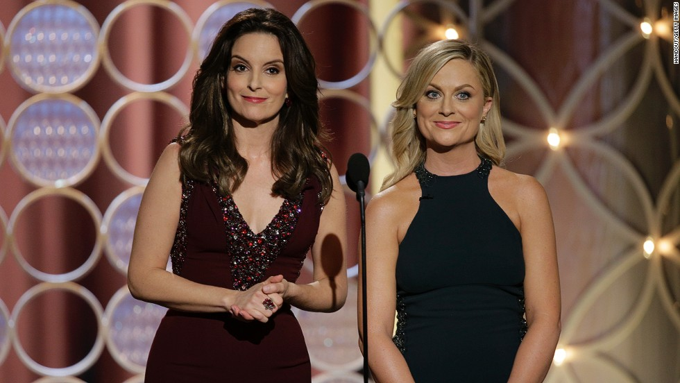 Tina Fey and Amy Poehler host the 71st Golden Globe Awards in Beverly Hills, California, on Sunday, January 12. The Hollywood Foreign Press Association's annual event is often looked at as an Academy Awards predictor. It also honors the best in television.