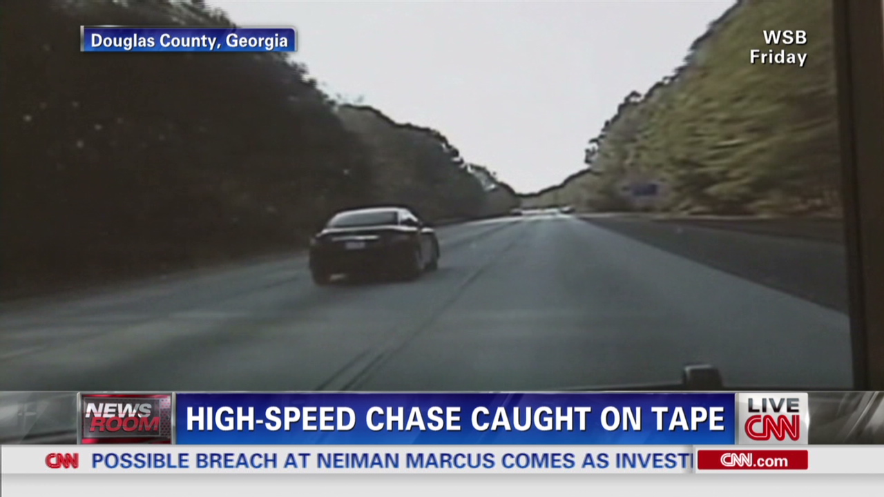 130-mph police chase caught on dashcam - CNN Video