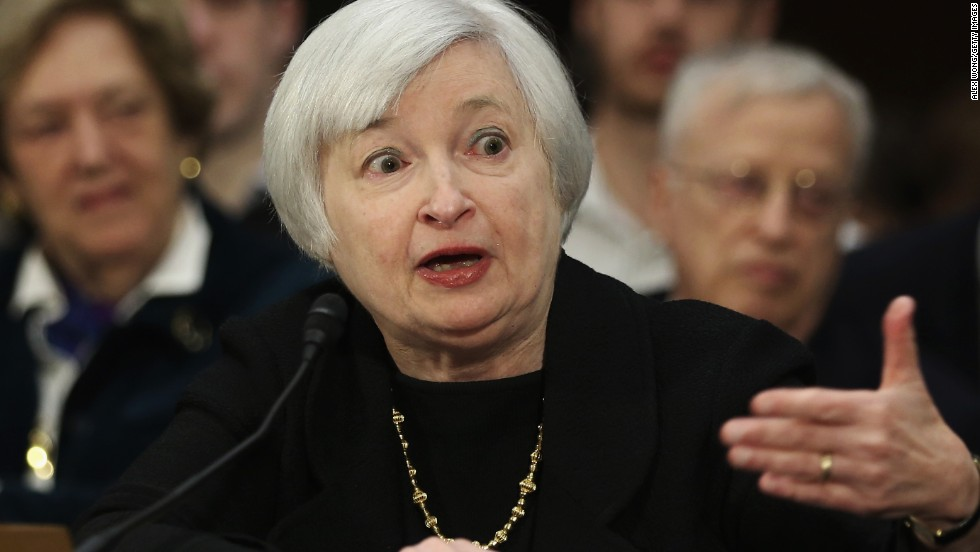 Janet Yellen was tapped to be the new Federal Reserve chief, the first woman to head the Fed. The native New Yorker took office in February 2014.