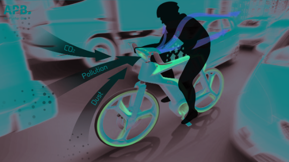 The Bangkok-based Lightfog Creative and Design Company has designed a bicycle that doubles as an air purifier.