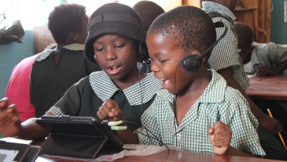 "In recent years, Zambia's primary education has received a major overhaul with school attendance shooting up to 94%. And British entrepreneur Mark Bennett is hoping to introduce children to interactive learning through his tablet, the ZEduPad. <br /><br />Having lived in the country for over 30 years, <a href=""/2014/02/19/business/who-needs-textbooks-zambian-ipad-school/index.html"" target=""_blank"">Bennett told CNN last year</a> his product teaches basic math and literacy skills to primary-aged kids. Backed by the Zambian Ministry of Education, each ZEduPad is pre-loaded with over 12,000 lessons in eight native languages for children in rural areas. <br /><br /><strong><a href=""/2014/02/19/business/who-needs-textbooks-zambian-ipad-school/index.html"" target=""_blank"">READ MORE on ZEduPad</strong></a>"