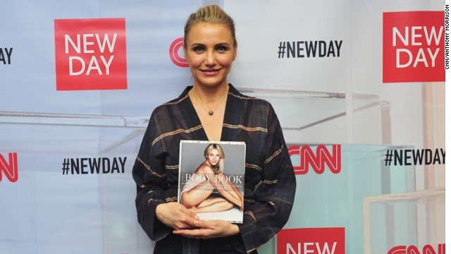 "Actress Cameron Diaz talks about her new work ""The Body Book"" on ""New Day."""