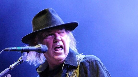 Rock and Roll Hall of Famer Neil Young doesn