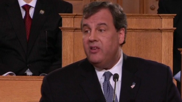 Christie plays up bipartisan record
