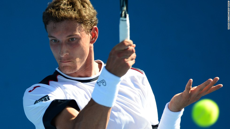 Spain's Pablo Carreno Busta is hoping to make the step up this year after impressing on the second-tier Challenger circuit, winning a string of titles in 2013.