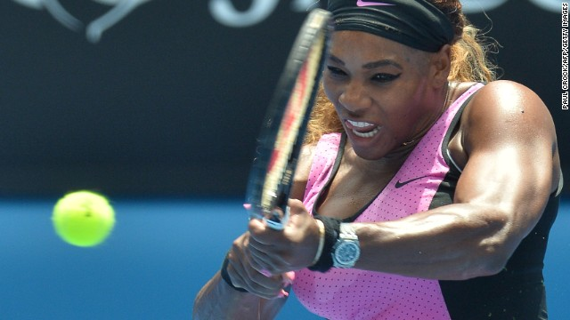 World No. 1 Serena Williams won two out of four grand slam titles in 2013.