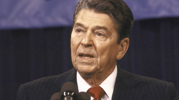 """President Ronald Reagan said """"mistakes were made"""" over the Iran-Contra scandal that rocked his second-term administration. The phrase also was used by Reagan's vice president, George H.W. Bush, in discussing the scandal. Bush succeeded Reagan in the White House."""