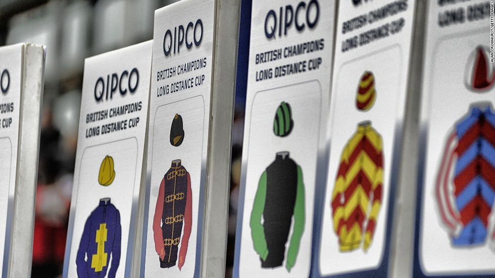 QIPCO branding dominates the British Champions Day meeting at Ascot every October as part of a long-term deal with organizers.