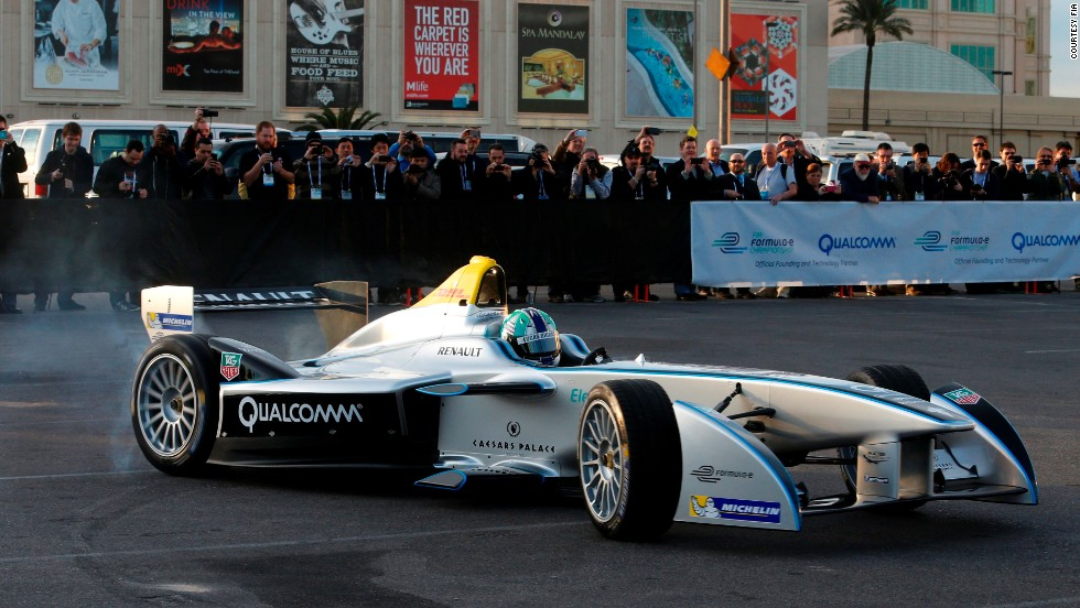"<strong>Zoom! </strong>Electric racers capable of 220 kph will be flying around the streets of 10 of the world's biggest cities in 2014, with<a href=""http://sportsillustrated.cnn.com/racing/news/20140106/electric-formula-e-race-car-debut-las-vegas.ap/""> the arrival of Formula E</a> -- the new FIA championship featuring single-seater cars powered exclusively by electric energy.  The inaugural season kicks off in September with 10 teams battling in Beijing, then across the globe."