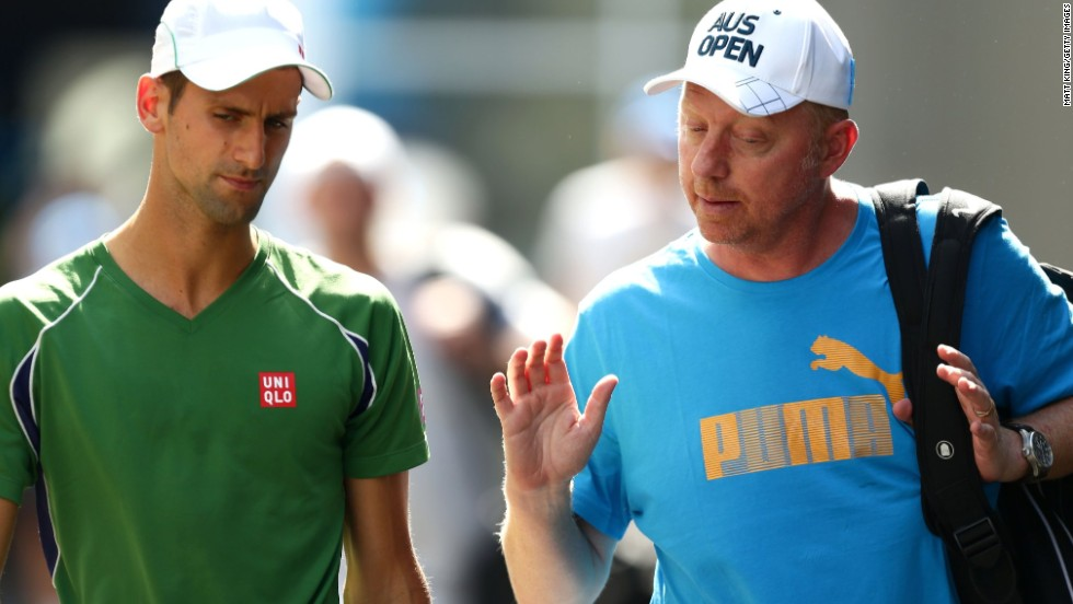 The German is one of several former grand slam champions to recently take up a coaching role with a top player.