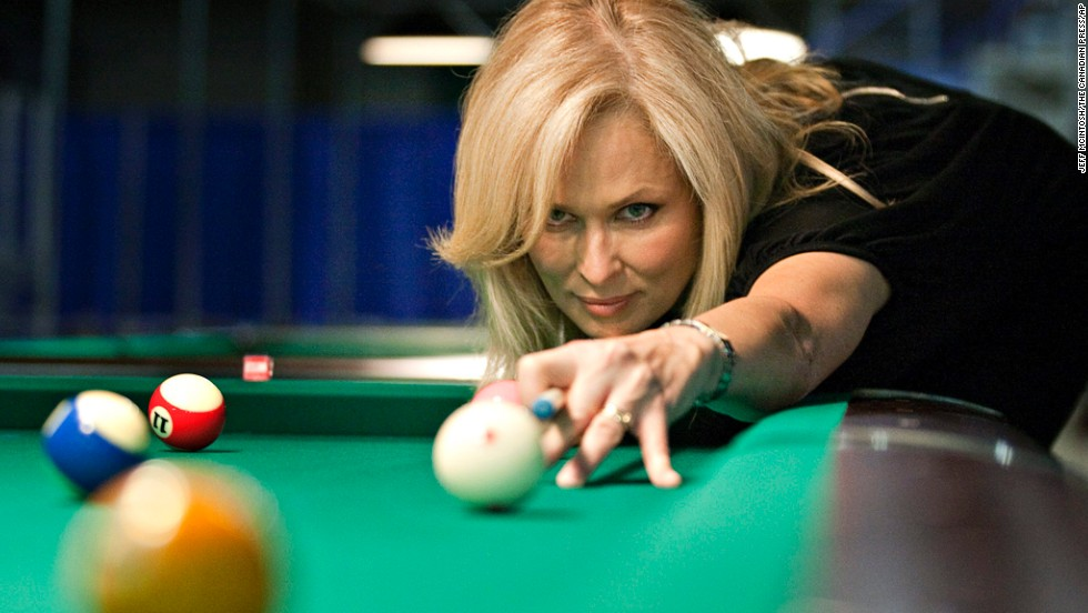 Also known as the Striking Viking, Ewa Mataya Laurance is a professional pool player who has won titles worldwide. She fell in love with pocket billiards in her hometown of Gavle, Sweden, after following her older brother into local billiard room. She moved to the United States to pursue her dream when she was 17, earning consecutive spots on the Women's Professional Tour. Though she continues to play billiards, she has also taken up golf, participating in charity events around the United States. She turns 50 on February 26.
