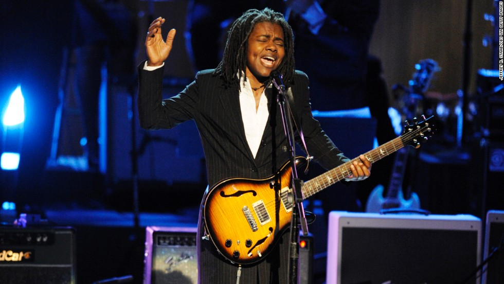 "Singer-songwriter Tracy Chapman is a four-time Grammy winning artist, known for songs such as ""Fast Car,"" ""Give Me One Reason"" and ""Telling Stories."" The Cleveland-born Tufts University graduate was born March 30, 1964."