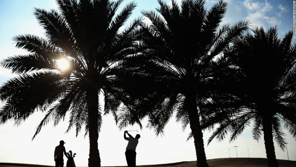 The Abu Dhabi Golf Championship attracts some of the world's best golfers as it offers a $2.7m prize pot.