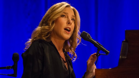 """Grammy-winning pianist and vocalist Diana Krall will be singing """"happy birthday"""" to herself on November 16, 2014. Krall, known for her contralto voice, is married to another legendary musician, Elvis Costello."""