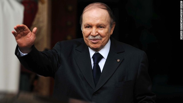 Bouteflika has rarely been seen in public since suffering a stroke in 2013.
