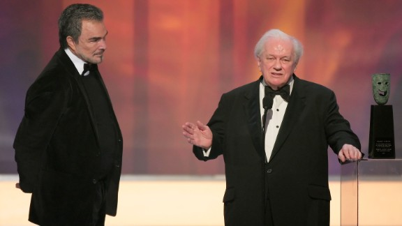 Charles Durning (2007), at right with Burt Reynolds