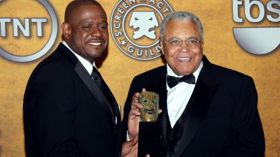 James Earl Jones (2008), at right with Forest Whitaker