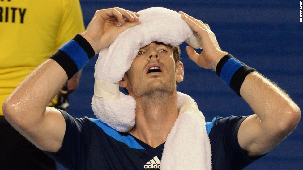 When you think of the Australian Open, heat comes to mind. Players, fans and officials can have a hard time coping.