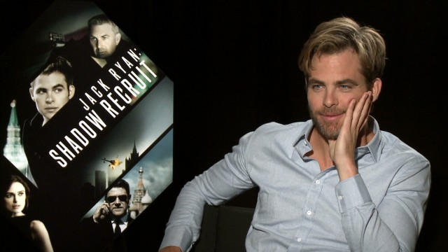 Chris Pine doesn't have the math