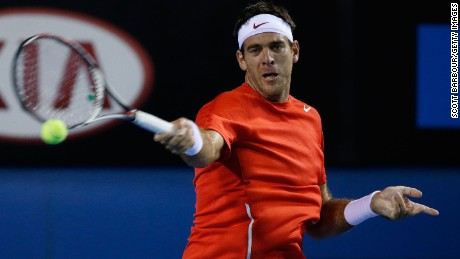 Juan Martin del Potro has struggled in recent years with a wrist injury.