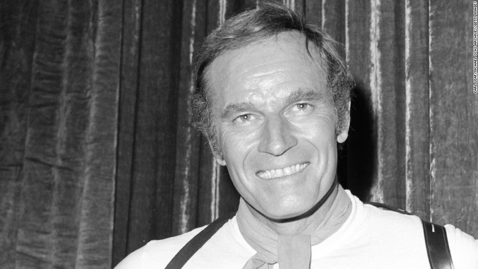 Charlton Heston (pictured circa 1972) received the award for 1971.