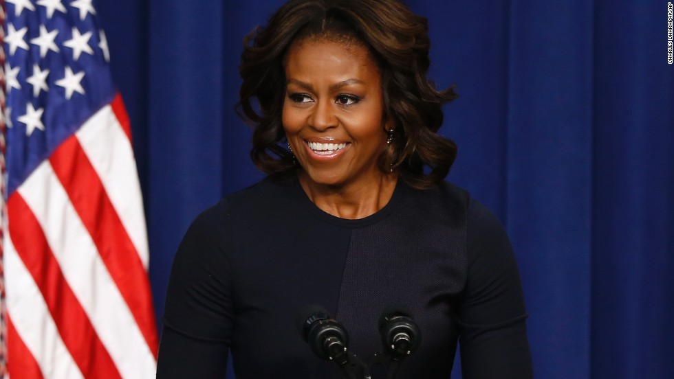 First lady Michelle Obama, who turns 50 this year, has accomplished much in her lifetime: She earned degrees from Princeton University and Harvard Law School before going on to work for a Chicago law firm. She later entered academia and public service. Obama, who will celebrate her birthday Friday, January 17, grew up on the South Side of Chicago as the daughter of a homemaker and a utility company employee.  And she is not the only one to turn the big 5-0. Here are 50 others who are marking that milestone.