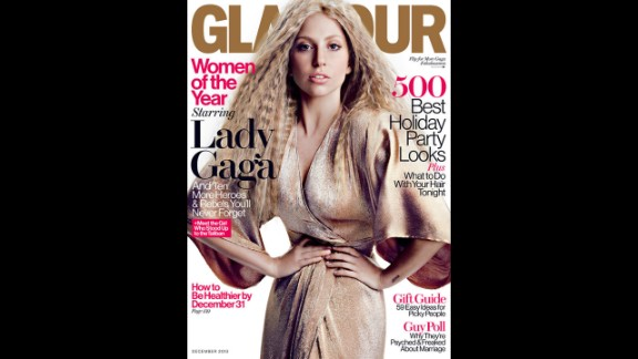 Lady Gaga was featured on Glamour