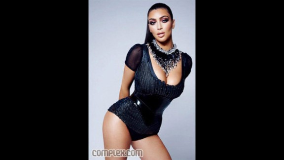 "In March 2009, Complex magazine accidentally featured a non-retouched image of Kim Kardashian for several hours before replacing with the retouched image. ""So what: I have a little cellulite,"" Kardashian wrote in a blog entry entitled ""Yes, I am complex!"" ""What curvy girl doesn"