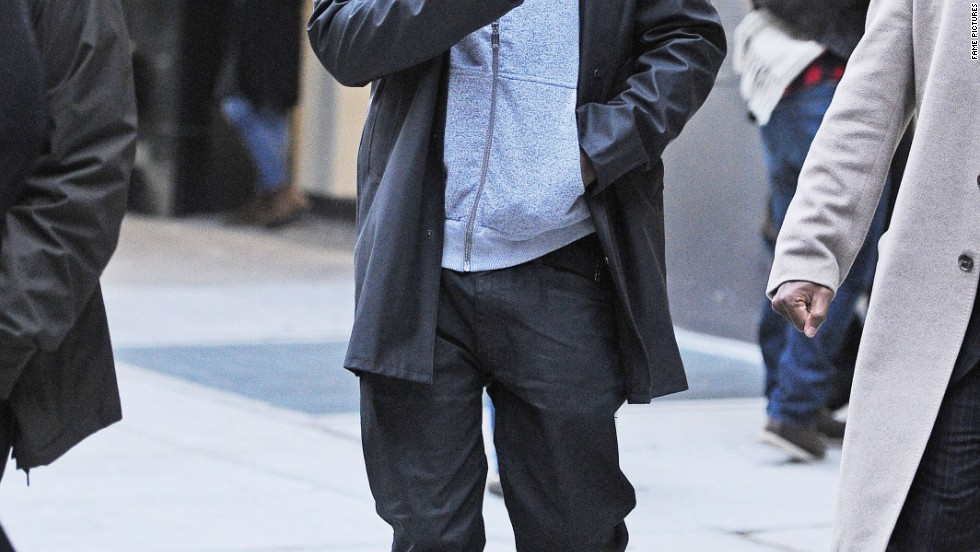 Jay Z waves to fans in New York on January 16.