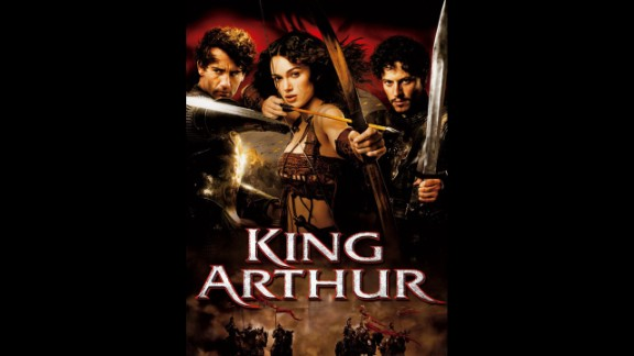"A 2004 promotional poster for ""King Arthur"" revealed a more well-endowed Keira Knightley than her typical boyish figure. Knightly has complained about her breasts being digitally altered for promotional movie shots and in reference to the ""King Arthur"" poster told a magazine, ""those things certainly weren"