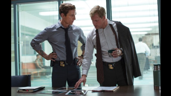 """""""True Detective"""": Scenes of violence are routine in prime-time TV now, especially with the resurgence of crime and horror series such as """"True Detective,"""" which had its first season finale on Sunday, March 9. The show stars Matthew McConaughey and Woody Harrelson as a pair of investigators uncovering grisly murders."""